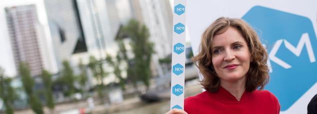 La candidate à la primaire de la droite, Nathalie Kosciusko-Morizet