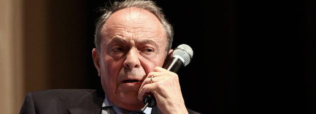 Michel Rocard à Paris, le 6 juillet 2010.