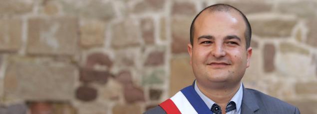 David Rachline, sénateur-maire de Fréjus.