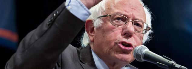 Bernie Sanders annonce qu'il mettra tout en oeuvre pour «battre Trump». (AFP)