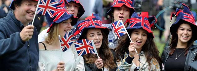 Manifestation de joie pour les partisans du Leave, vendredi dans les rues de Londres.