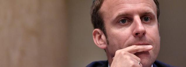 Emmanuel Macron, le ministre de l'Économie