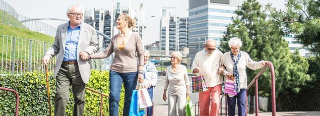 Selon les séniors, la vie peut rester une source de plaisir jusqu'à 83 ans. Photo d'illustration.