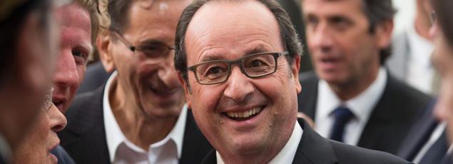 François Hollande veut «rendre la place financière de Paris plus attractive.»