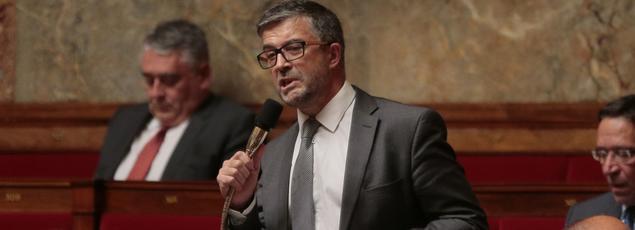 Le député UDI Bertrand Pancher (ici à l'Assemblée nationale) s'est battu aux côtés d'autres élus et avec les ONG pour obtenir cette interdiction.