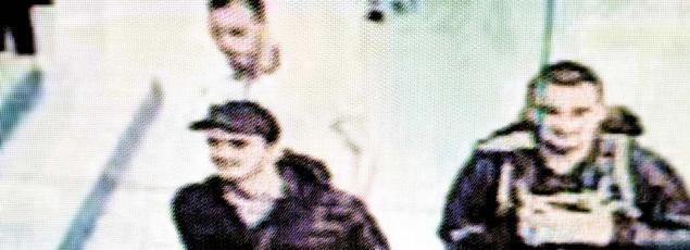 Les trois kamikazes filmés par une caméra de surveillance de l'aéroport Atatürk, peu avant l'attaque.