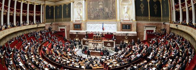 L'Assemblée nationale, le 27 novembre 2012.
