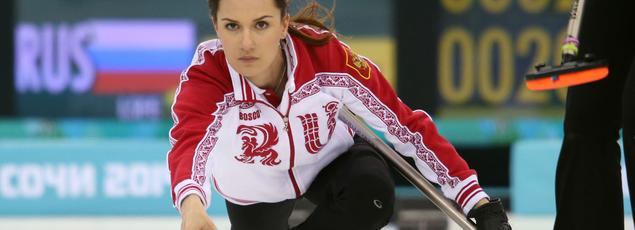 Anna Sidorova, athlète russe sélectionnée par la Russie pour les JO de Sotchi en 2014.