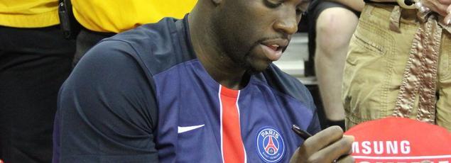 Draymond Green a été vu à Los Angeles portant un maillot du PSG