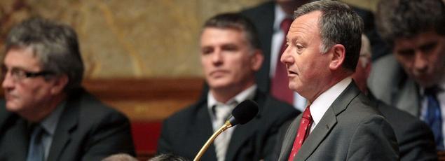 Rudy Salles, député UDI des Alpes-Maritimes