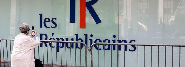 Le siège des Républicains, à Paris