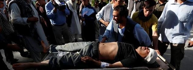 L'attaque, revendiqué par le groupe terroriste Etat islamique, a fait plus de 60 morts et 200 blessés à Kaboul, lors d'une manifestation pacifique chiite.