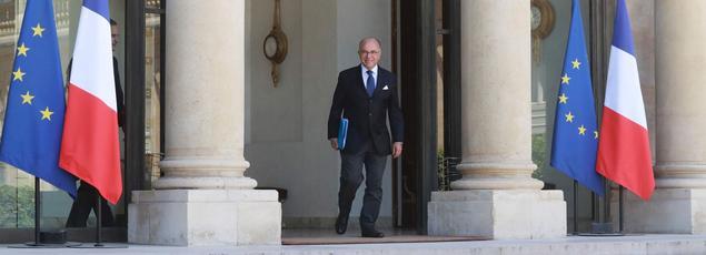 Le ministre de l'Intérieur Bernard Cazeneuve, le 23 juillet 2016 à l'Elysée.