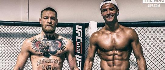 Cristiano Ronaldo et Conor McGregor se sont entraînés ensemble à Las Vegas.