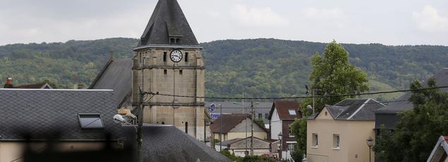 L'église Saint-Etienne-du-Rouvray