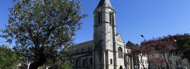 L'église Saint-Cyr-Saint-Julitte, à Villejuif. En 2015, Sid Ahmed Ghlam projetait d'y perpétrer un attentat.