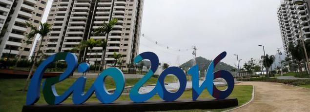 Le Village olympique de Rio n'est pas encore tout à fait fonctionnel.