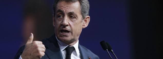 Le président des Républicains, Nicolas Sarkozy.