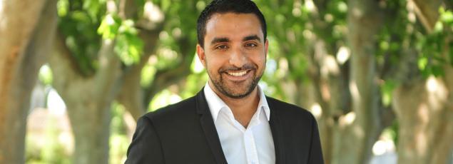 Amine El Khatmi, adjoint au maire d'Avignon