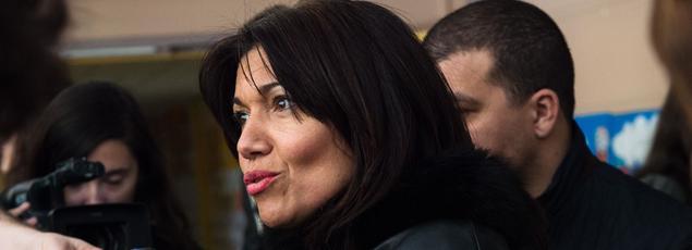 Samia Ghali, la sénatrice PS, maire des XVe et XVIearrondissements de Marseille, avait fait appel à l'armée face aux problèmes de violence dans sa ville.