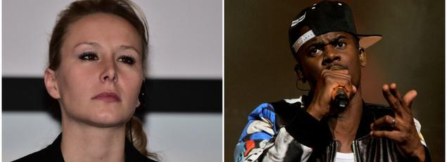 Marion Maréchal-Le Pen et le rappeur Black M
