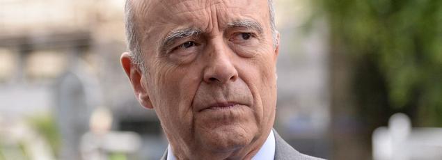 Le candidat à la primaire de la droite, Alain Juppé
