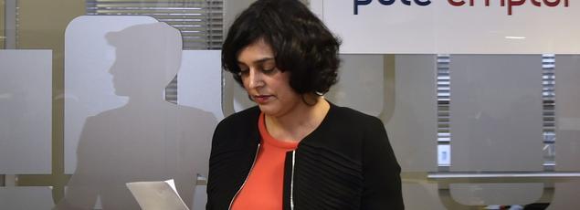 La ministre du Travail, Myriam El Khomri