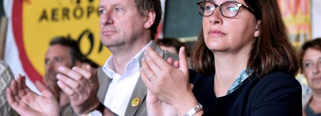 Yannick Jadot et Cécile Duflot sont candidats à la primaire d'EELV, qui aura lieu fin octobre.