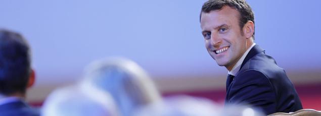 Emmanuel Macron, heureux d'avoir «déverrouillé des secteurs, levé des barrières, privilégié la concurrence».