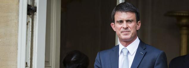 Manuel Valls à Matignon, le 22 juin 2016.