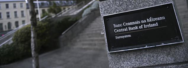 Banque centrale d'Irlande à Dublin.