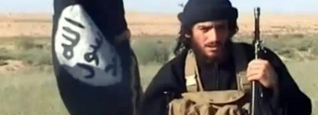 Abou Mohammed al-Adnani sur une vidéo datant de 2012.