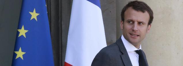 Emmanuel Macron, à l'Élysée, le 23 juillet.