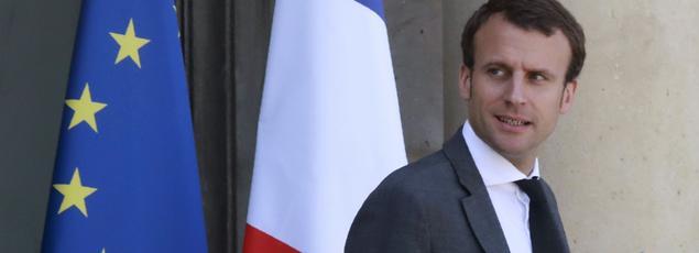 Emmanuel Macron, ancien ministre de l'Économie