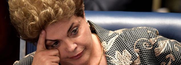 La présidente du Brésil Dilma Rousseff a été destituée mercredi.