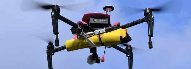 Les drones sont utilisés par la police nationale à des fins très spécifiques.