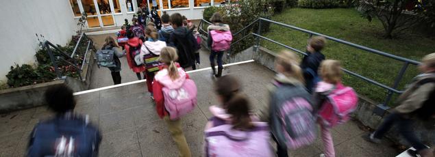 Ecole La Ronce à Ville d'Avray en 2012. (illustration)