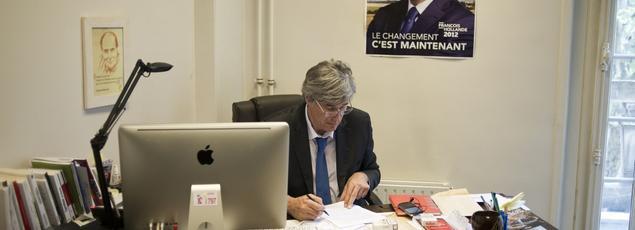 Stéphane le Foll, directeur de campagne de François Hollande en 2012