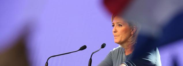 Une association lyonnaise refuse d'être assimilée au nouveau slogan de Marine Le Pen