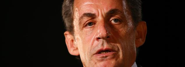 Nicolas Sarkozy à Mandelieu la Napoule, le 169 septembre 2016.