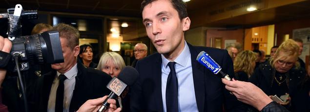 ,Julien Sanchez au tribunal correctionnel de Nîmes, le 7 janvier dernier.