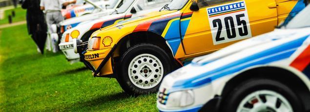 Peugeot, qui a marqué l'histoire de l'autodrome de Montlhéry et du rallye, est très présent ce week-end.
