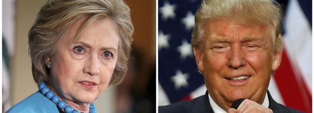 La compétition reste ultraserrée, Donald Trump ayant presque entièrement rattrapé le retard qu'il accusait sur Hillary Clinton au mois d'août.