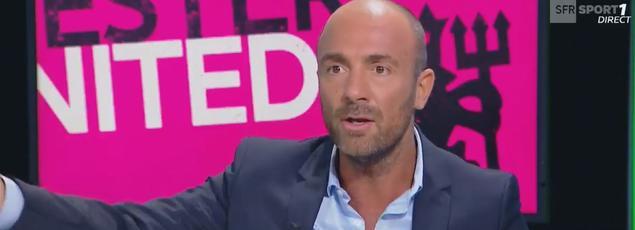 Christophe Dugarry ne cautionne pas l'attitude de Mamadou Sakho sur Snapchat.
