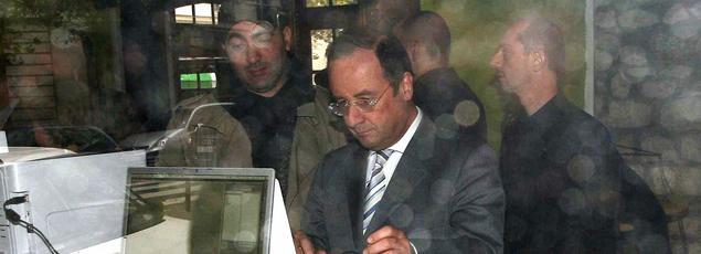 François Hollande, en 2007