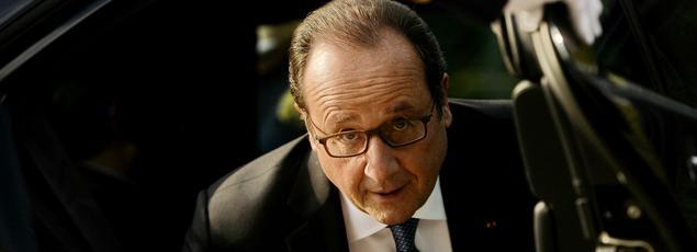 François Hollande à Bucarest, le 13 septembre 2016.
