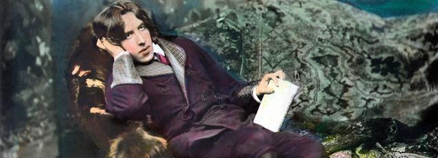 Oscar Wilde à New York en 1882. Photo de Napoléon Sarony.