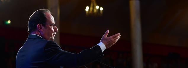 François Hollande à Paris, le 8 septembre 2016.