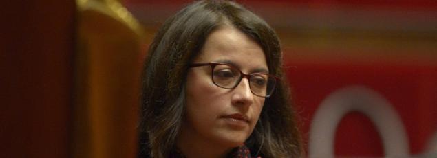 Cécile Duflot, députée écologiste de Paris