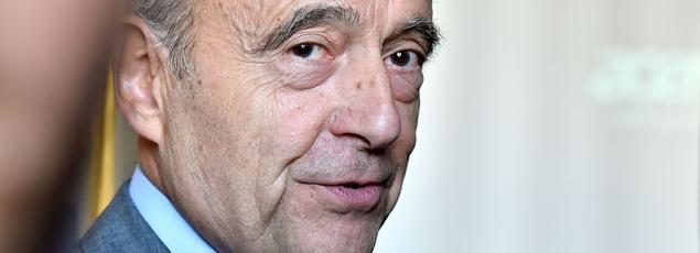 Alain Juppé aux «primaires de l'économie», le 27 septembre, à Paris.